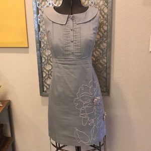 Anthropology Tabitha gray size 12 dress